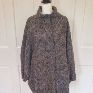 Grey Wool Winter coat (Bulgaria)